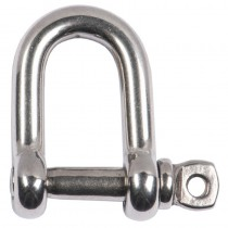 Shackles (2) A2 Stainless Steel M6x13mm Load Limit 375Kg ***
