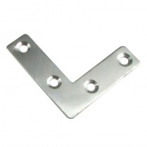 Flat Angle Bracket 2x2 (50mm) (pack 4)