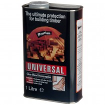 Wood Preservative Clear Universal 1Ltr