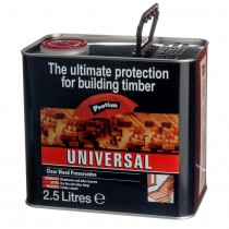 Wood Preservative Clear Universal 2.5Ltr