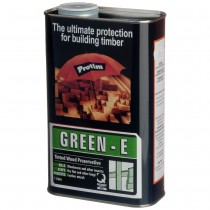Construction Timber Preserver Tinted Green  1L