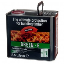 Construction Timber Preserver Tinted Green  2.5L