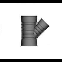 Twinwall Y 45D 225-150mm