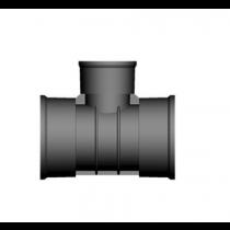 Twinwall Tee 90D 225-150mm