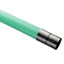 Twinwall Cable Ducting Green (750n) 100/118mm x 6mtr Incl. Seals + Coupler