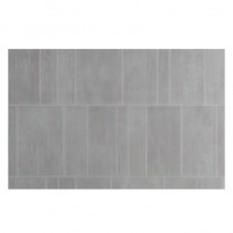 Grosfillex Grey 'S' Tile 2600x375x8mm