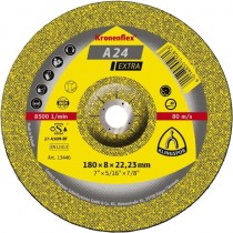 Steel Grinding Disc A24 Extra 115x6x22 D/C (For Angle Grinder)