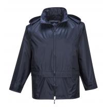 Portwest PVC Coated Rain Suit Navy Large