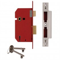 Union 2.5 5 Lever Mortice Lock