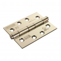 Euro spec EB Hinge Fire Rated 100mm x 76mm x 2.5mm Plain Bearing Hinge - Grade 7 CE Marked EB Pair