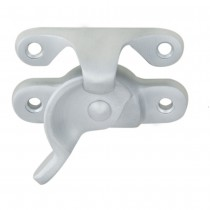 Sash Fastener Satin Chrome - Fitch Pattern 64 x 25mm