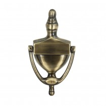 Victorian Urn Door Knocker Polished Brass - 152mm