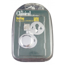 Victorian Open & Closed Escutcheon CP/BP