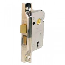 Blisterpack 2 Lever 2in Rebated Nickel Lock