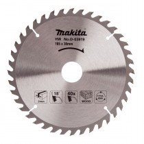 Makita 185x40Tx30mm Standard TCT Saw Blade