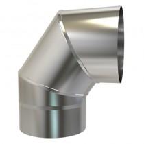 Plain Stainless/Steel Bend 316 150mm 90 deg