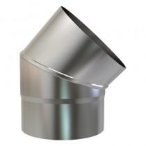 Plain Stainless/Steel Bend 316 125mm 45 deg