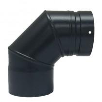 Plain Stainless/Steel Bend 316 150mm 90 deg c/w Door