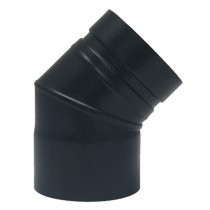Plain Stainless/Steel Bend 316 150mm 45 deg c/w Door