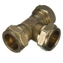 Compression Equal Tee cxcxc 22mm 318 210 51 336