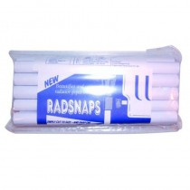 Radsnaps Chrome Pipe Cover - 3x1 Mtr lengths per pack