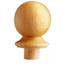 Burbidge Newel Cap Ball NC2 90 Pine