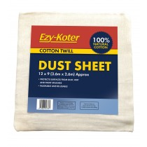 (Ezykoter) Cotton Dust Sheet T 12x9""
