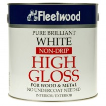 Non Drip Gloss Brilliant White 2.5L