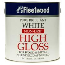 Non Drip Gloss Brilliant White 2.5L