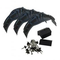 Universal Ridge Dry Union Bracket + Screws Kit (Pack11)