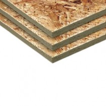 2440 x 1220 x 9mm Oriented Strand Board (OSB3)