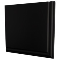 Ogee Gable End Box 600x690mm Black (per pair)