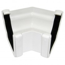 Ogee Gutter Angle 135 Degree White