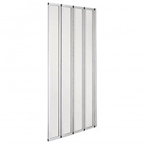Orient 4 Fold Bathscreen Chrome
