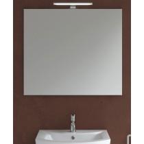 800mm x 700mm Mirror & 600mm Pandora Chrome Light