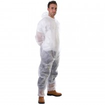 Disposable Boilersuit XL White
