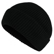 Knit Insulated Cap Black