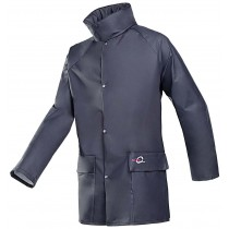 Jacket Navy Flexothane  (L) 4145 Bagged Sioen (Breathable Rain Jacket)