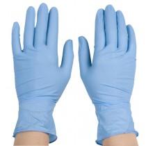 Blue Nitrile Powder Free Gloves (Box) Large