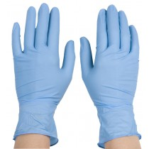 Blue Nitrile Powder Free Gloves (Box)  XL