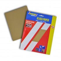 Sand/Glass Paper Sheets Coarse Grade (5)