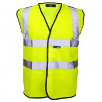 EN471 One Band Hi Vis Vest Large