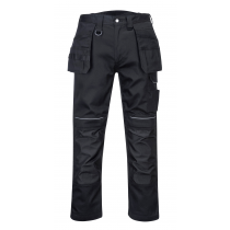 Portwest PW3 Cotton Holster Trousers Black size 40