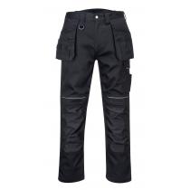 Portwest PW3 Cotton Holster Trousers Black size 32