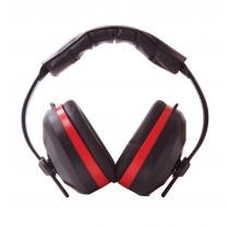 Portwest Comfort Ear Muffs EN352 Black /Red