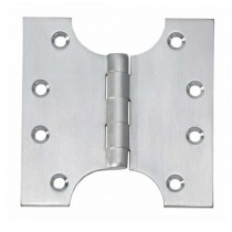 Parliament Hinge 100mmx100mm Satin Chrome (pair)