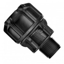 "Philmac End Conn MI 3G 25232 25mm-3/4x3/4""BSP"