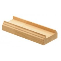 Burbidge Baserail BR2400x55x22mm Pine