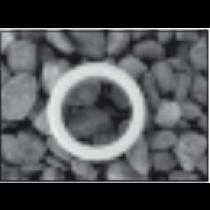 Soil 43x36mm Reducer White