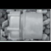 "PVC 50mm 1 1/2"" Grey Waste Access Cap"